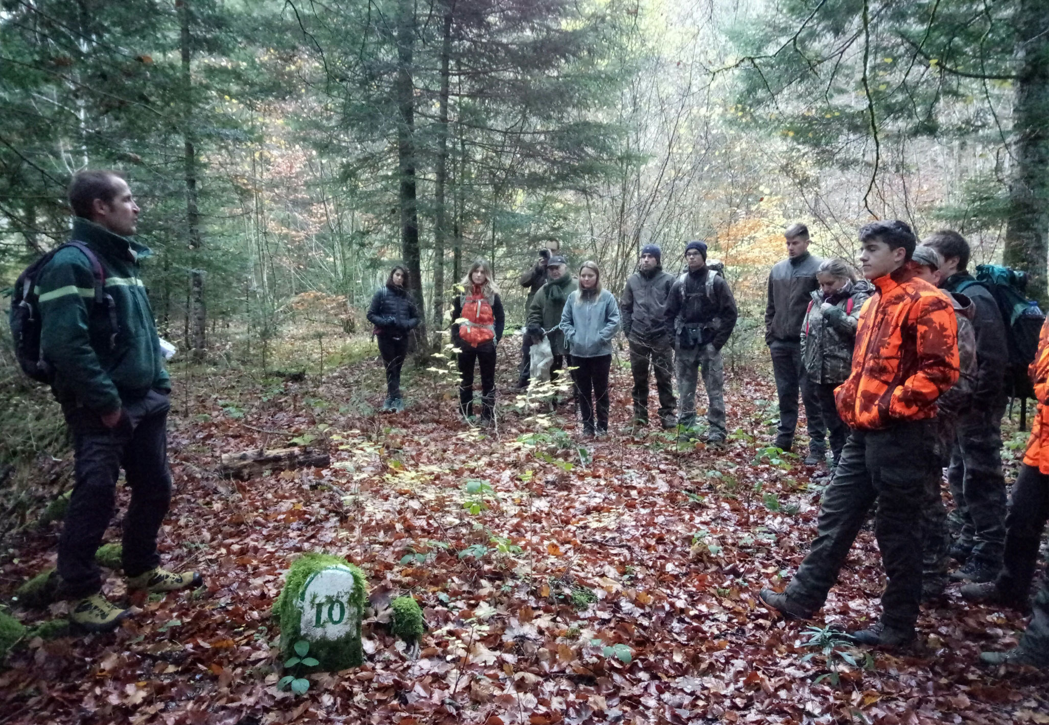 Stage Jeunes Chasseurs