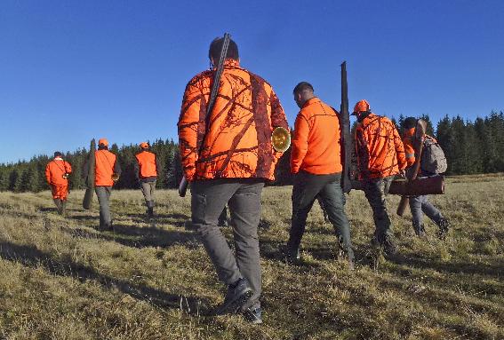 Journée de chasse pédagogique au Domaine du Sauvage