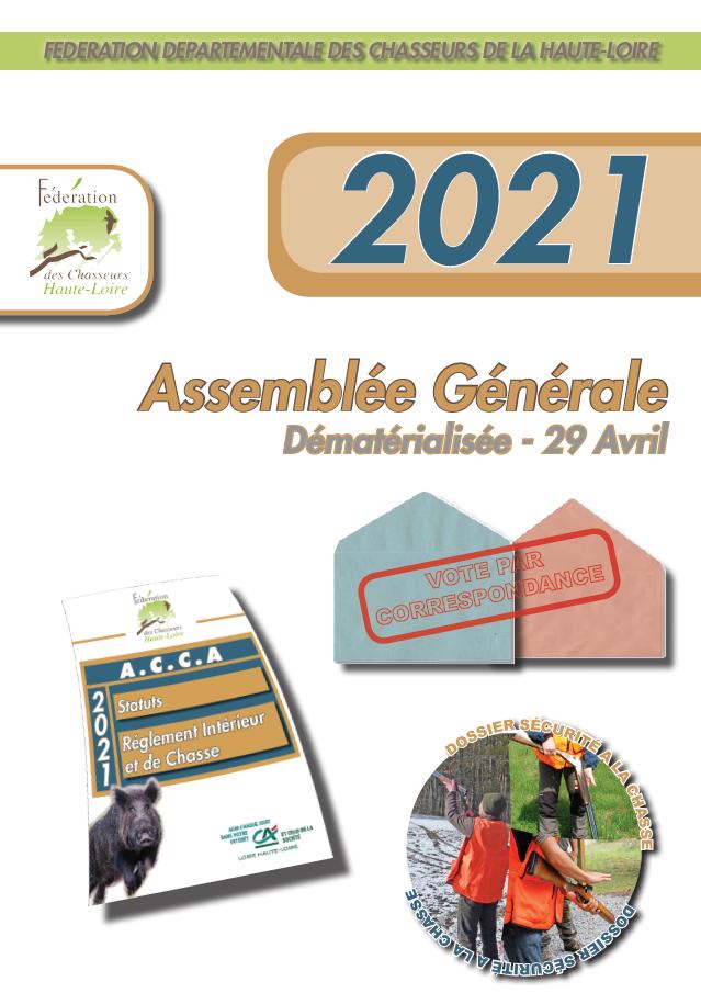 Assemblée Générale du 29 avril 2021