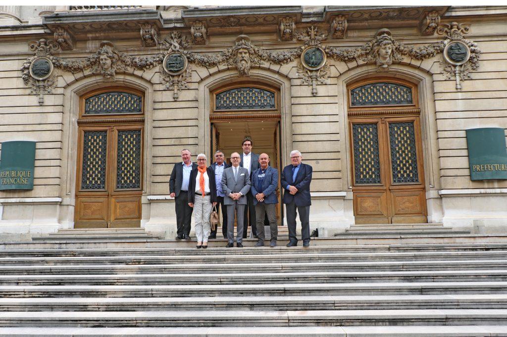 Les présidents de Fédérations de la région AURA rencontrent le préfet de région
