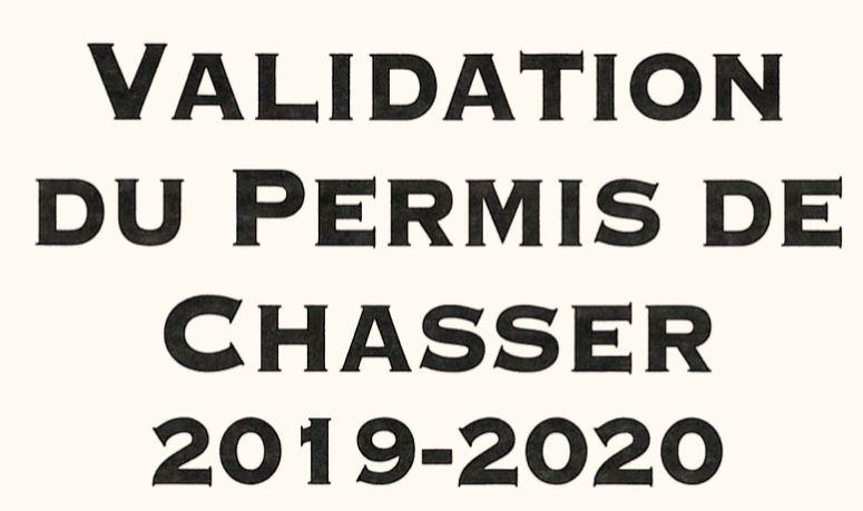 LA VALIDATION DU PERMIS 2019-20 DANS LE PUY-DE-DÔME