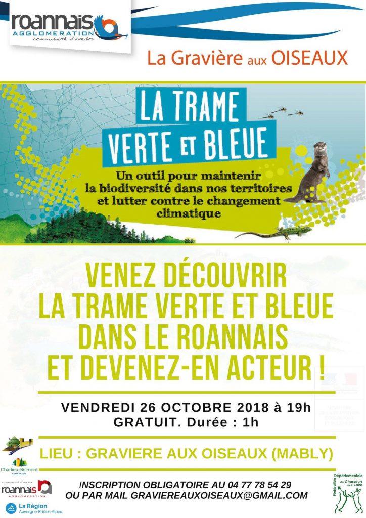 Soirée conférence sur le Roannais – Trame Verte et Bleue