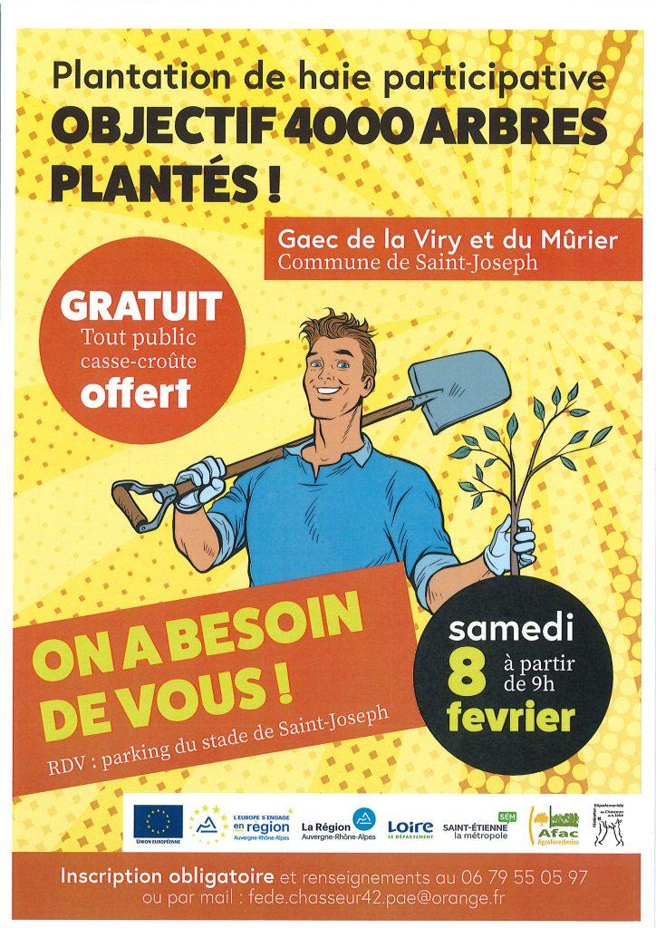 PLANTATION DE HAIE PARTICIPATIVE