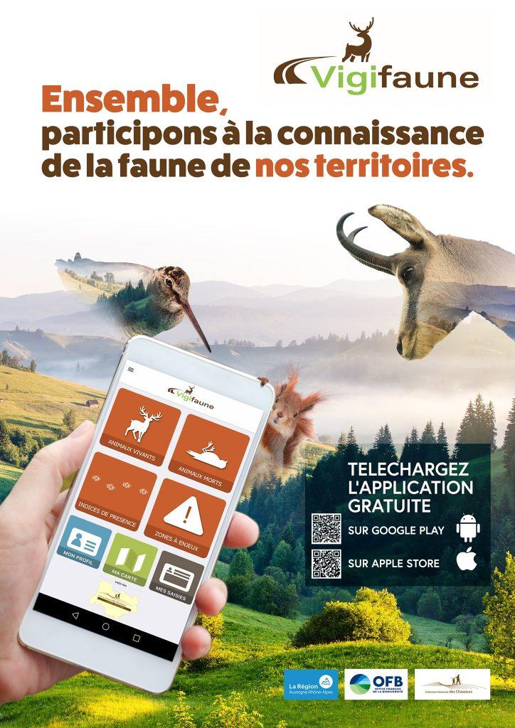 Vous aimez observer la faune ! Connaissez-vous l'application Vigifaune ?