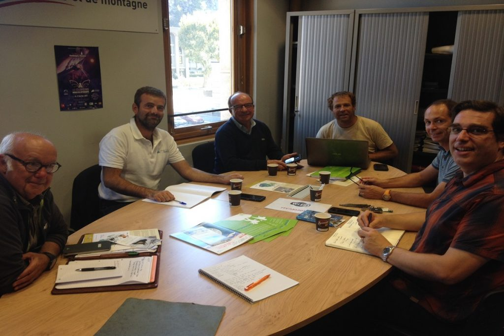 Rencontre avec le Comité Départemental des CAF de Savoie