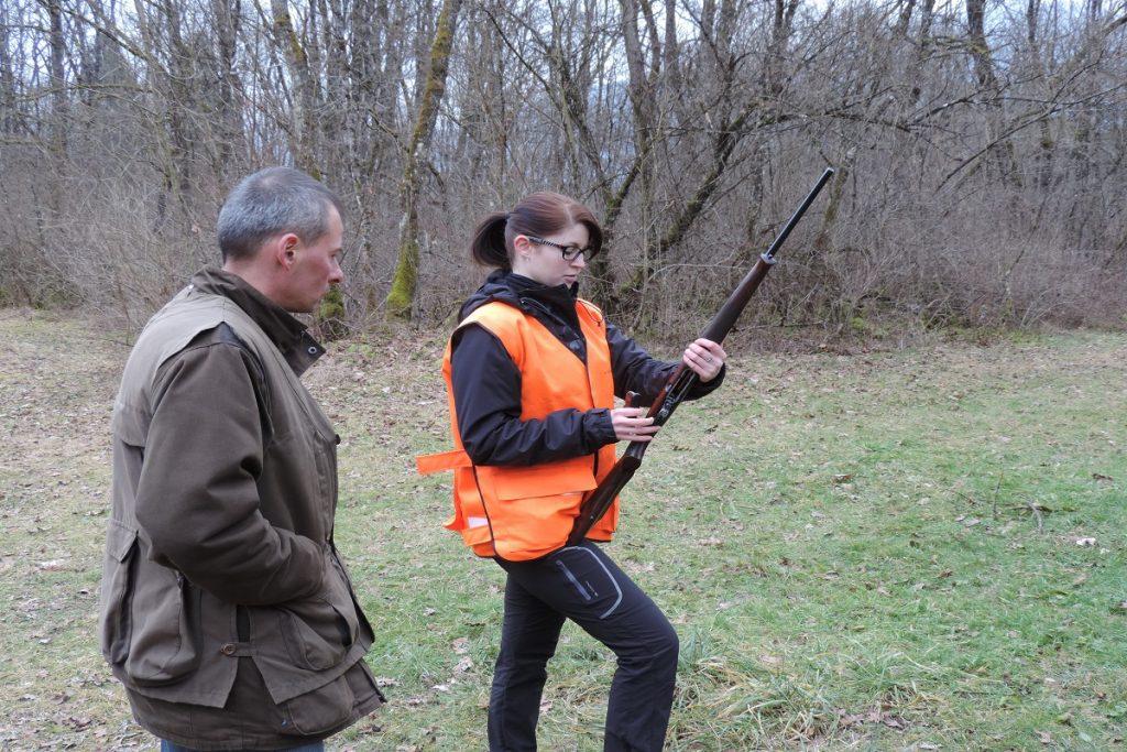 Réussite au permis de chasser