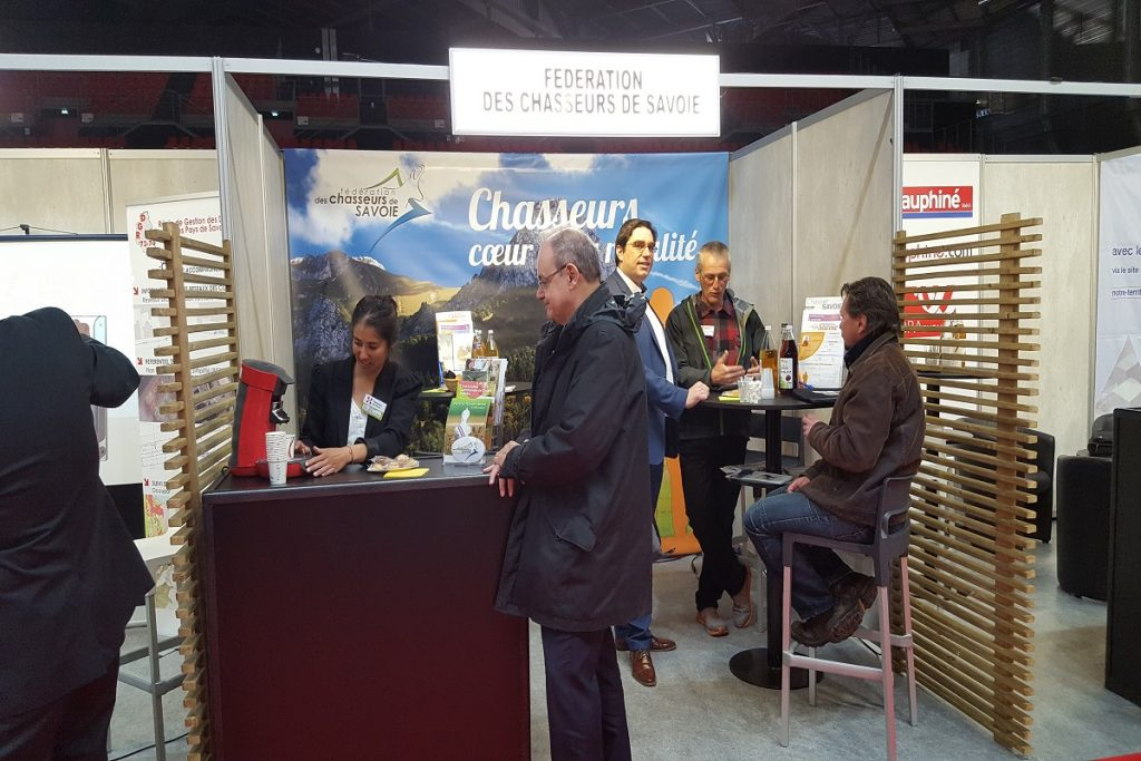 Participation Salon des Maires