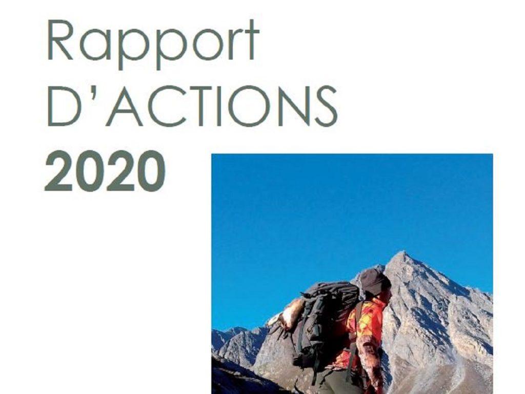 Rapport d'actions 2020